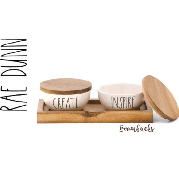 COPY - NEW Rae Dunn 3 pcs set Bowl /tray Create &…
